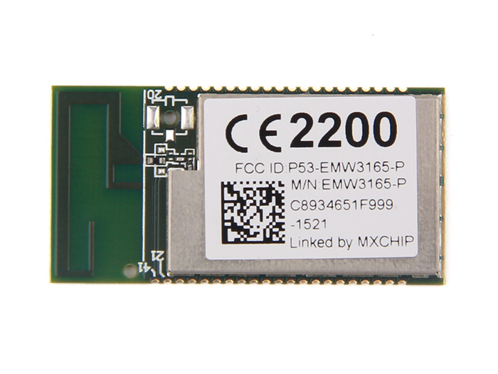 EMW3165 - Cortex-M4 based WiFi SoC Module